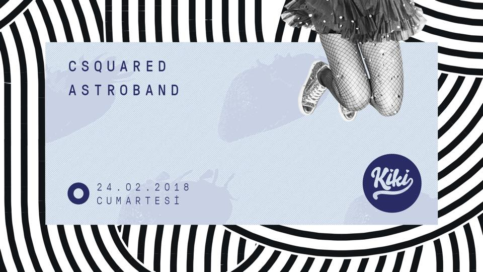 CSquared & AstroBand (live)